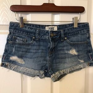 Victoria's Secret pink denim short